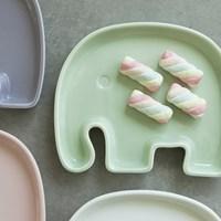 [푸코]코끼리 플레이트(4color)_(1345258)