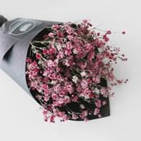 드라이 안개 블랙 꽃다발(소)