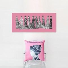 마드모아젤 핑크 아트웍 가로형