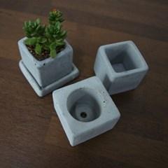 미니 시멘트 화분 - 2type