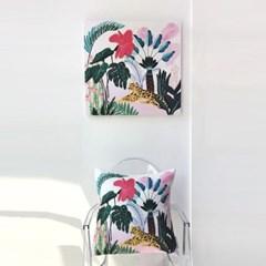 하쿠나마타타 핑크 아트웍 (60x60)