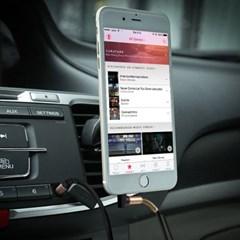 차량용 스피커 헤드폰 단선방지 스프링 코일 케이블_(664733)