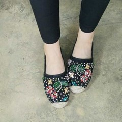 kami et muse Various cubic lace loafers_KM17s378