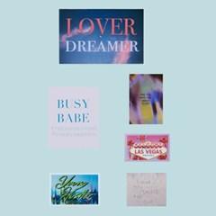 LOVER DREAMER - STICKER PACK