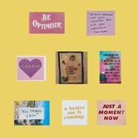 BE OPTIMISTIC - STICKER PACK