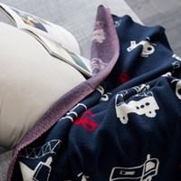미니 헬리 담요-차콜(80x100).