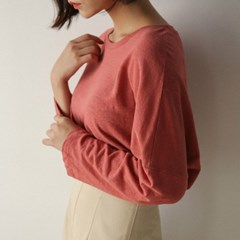 loose fit drop shoulder tee