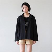 Casual short cotton jacket