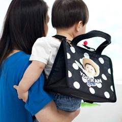 [키미티즈] 헬로우시리즈 - 미니 이유식보냉가방(아기얼굴)