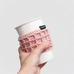 와플 컵홀더 - 손뜨개 KIT