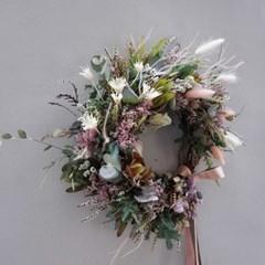 드라이플라워 - 사랑스러운 들꽃리스