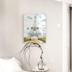 눈 내리는 에펠탑 아크릴 일러스트 그림액자by이그린(271099)