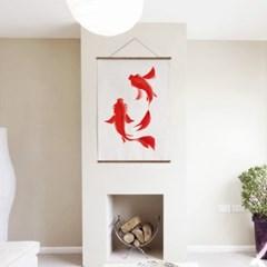 패브릭 천 포스터 F052 동물 태피스트리 물고기