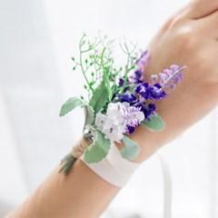 라벤더 허브 들꽃팔찌_(515897)