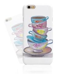 Watercolor Cups (HE-085B) Hard Case