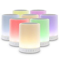 LED 수유등,캠핑등 블루투스 스피커