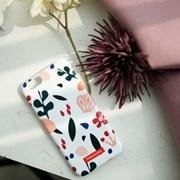 하유오유 휴대폰케이스 화이트 플라워 White Flower