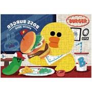 라인프렌즈 큐브 직소퍼즐 108조각 샐리와 햄버거