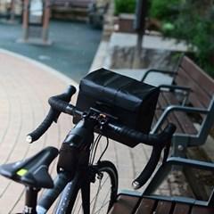 자전거 완전방수 여행 및 자전거 출퇴근 핸들바 가방