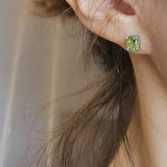 페리도트 이브 귀걸이(8월탄생석)peridot eve earring