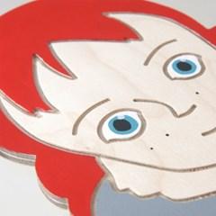 빨간머리앤 벽시계 (핸드메이드)