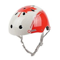 줄라이카 유아 아동 헬멧 어반스타일 유니크 레드콘