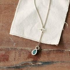 [normaldott] labradorite 2way necklace