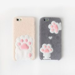 [MIYOPET] 고양이 발바닥 핑크젤리 아이폰 6 6s 7 Plus 케이스