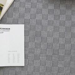 [가온길카페트]스칼렛 피그먼트 체크 면 카페트 145x200cm (6색상)