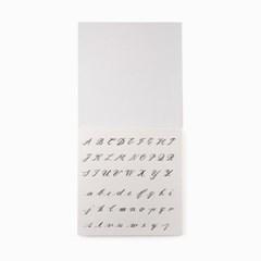 TTLB Calligraphy Practice Notebook (handwriting)