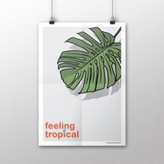 FPC 인테리어 아트 포스터 액자 Feeling tropical