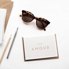 미슈카스 디자인 카드 - Mon Amour