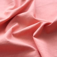 [Fabric] Peach Pink_Washing Solid Linen (피치핑크 워싱 린넨)