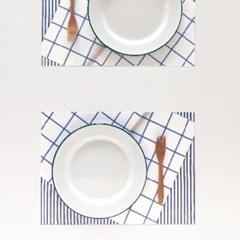 프렌치다이닝 종이 테이블매트 (24p)