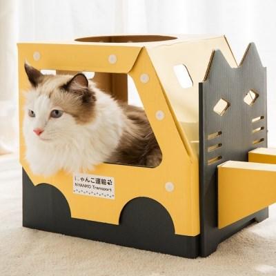 [FELISSIMO] 고양이 지게차 하우스 (2 options)