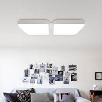 에코 LED 4등 직부 100W LG이노텍LED칩/국내산 천장등_(1435062)