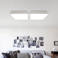 모노 LED 4등 직부 100W 삼성LED칩/국내산 천장등_(1433178)
