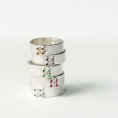 [normaldott] point & surface ring