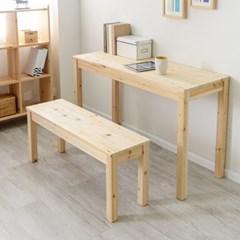 삼나무 원목 2인벤치 체어 의자