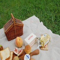 [파우치포함 ] Butter_linen 피크닉매트