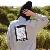 BIG STAMP SWEATSHIRT_GRAY