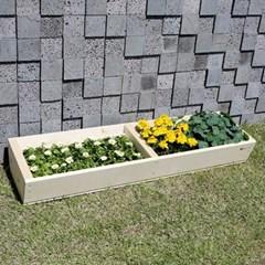 원목 텃밭 화분 1200(중형) 베란다 마당 친환경 정원 꾸미기