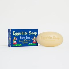 EGG WHITE SINGLE BAR SOAP