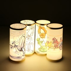 이중섭그림 아트램프/LED램프/흰소/취침등/수유등/인테리어조명