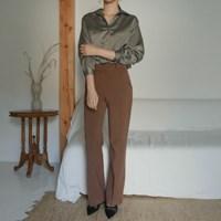 [by fromfit] 달빛 카라 블라우스 (2-COLORS)