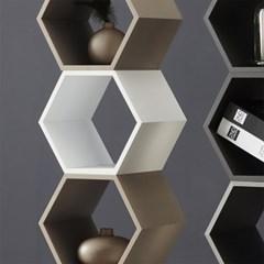 로폴드 - 공간박스 6각 300 (4color)