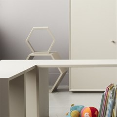 로폴드 - 공간박스 6각 240 (4color)