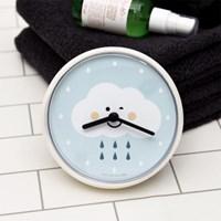 우드로하우스 디자인 방수욕실벽시계 3종/택1