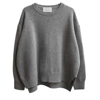 round loose wool knit(3 color)