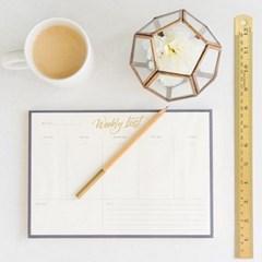 Desktop Weekly Notepad / 주간 스케줄 노트